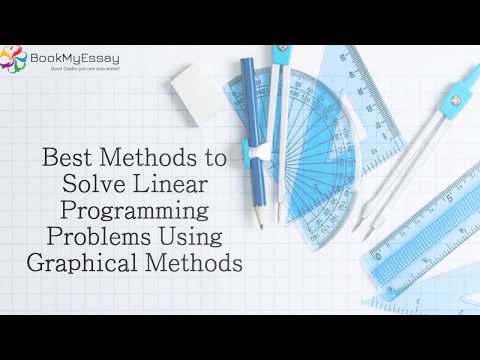 Best Methods to Solve Linear Programming Problems Using Graphical Methods