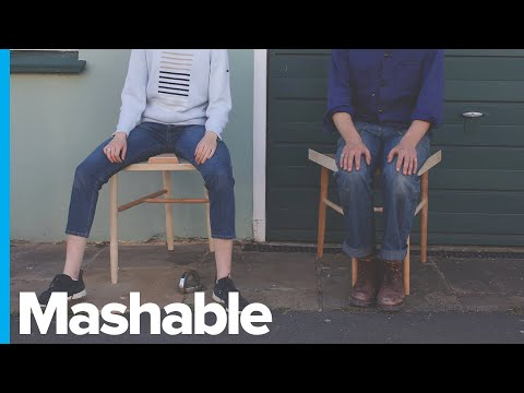 Anti-manspreading Chair Forces Men To Sit With Knees Together