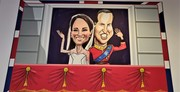 Prince and Princess of Cambridge Art
