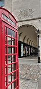 Red Telephone Booth in Covent Garden
