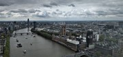 View from London Eye: City of Westminister
