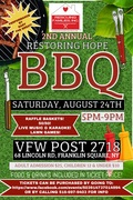 RESCUING FAMILIES  BBQ FLYER 2019