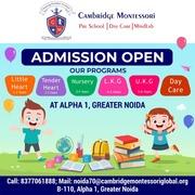 Low Investment Preschool Franchise in Delhi - Cambridge Montessori