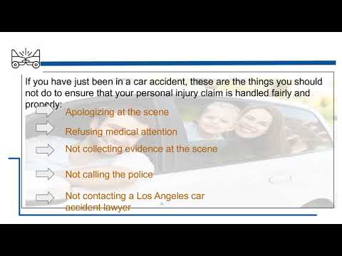 What You Should Not Do After A Car Accident