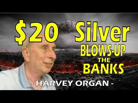$20 Silver BLOWS-UP The Banks Before The End Of 2019! | Harvey Organ