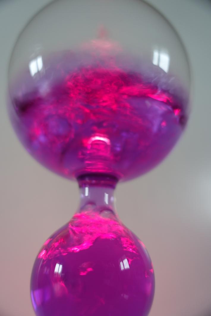 French boiler purple lamp