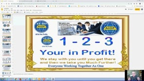 As Simple as 1,2, 3 Your In Profit with Auto AIOP System Real Business Webinar Replay 22nd July 2019