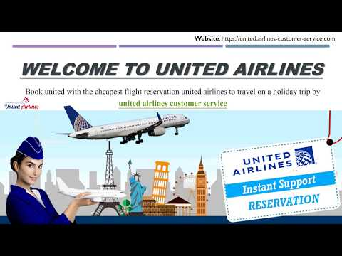 Call united airlines customer service - quick reserve your flight tickets