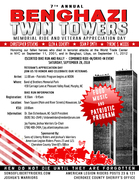 7th Annual Benghazi-Twin Towers Memorial Ride/Veterans Appreciation Event