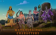 Mythological Characters Modeling Design by 3d Production HUB