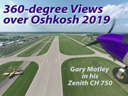 360-degree Views over Oshkosh
