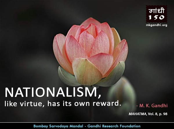 Thought For The Day ( NATIONALISM )