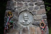 Orbán Balázs síremléke a Szejkefürdőn