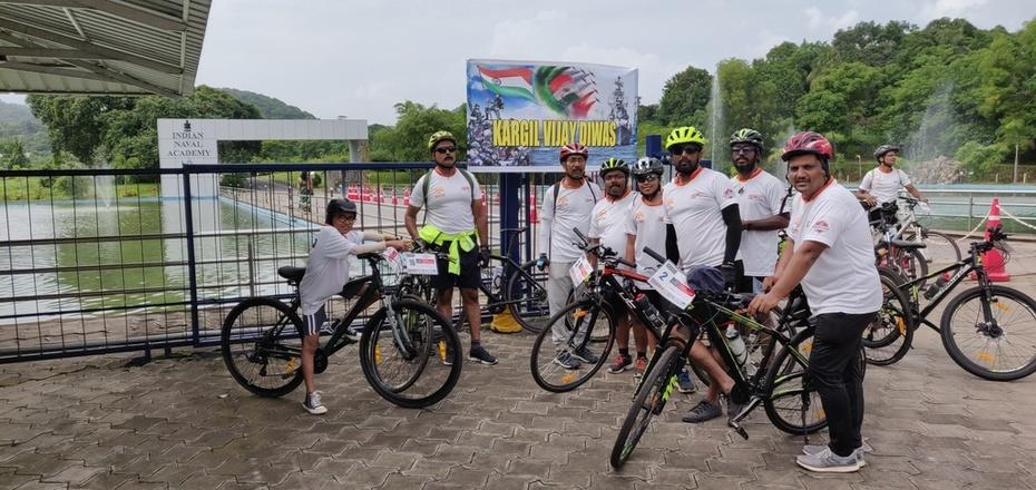 Kargil Vijay Divas ride