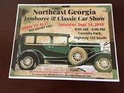 NORTHEAST GEORGIA JAMBOREE and CLASSIC CAR SHOW