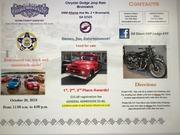 FOP, ED DIXON Memorial Lodge, #37, Car show for FOP COPS & KIDS CHRISTMAS EVENT