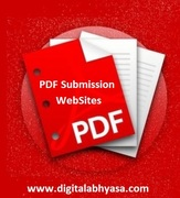 Free pdf submission sites lists