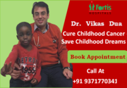 Dr. Vikas  Dua in India Cure Childhood Cancer