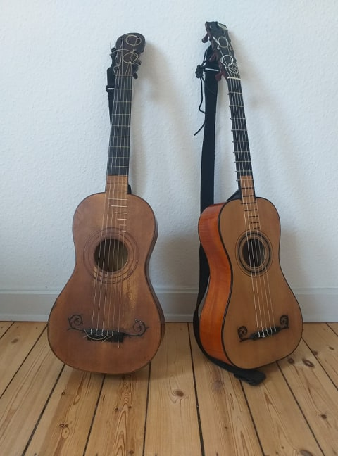 My two guitars