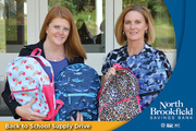North Brookfield Savings Bank Back to School Supply Drive