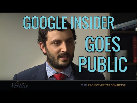 "Current Sr. Google Engineer Goes Public on Camera: Tech is ""dangerous,"" ""taking sides"""