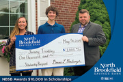 North Brookfield Savings Bank donates $10,000 in High School Scholarships