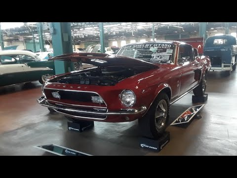 Stupid Low Mileage '68 Shelby GT350H  At the 2019 Mecum Harrisburg