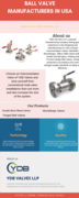 Ball Valve Manufacturers In Usa