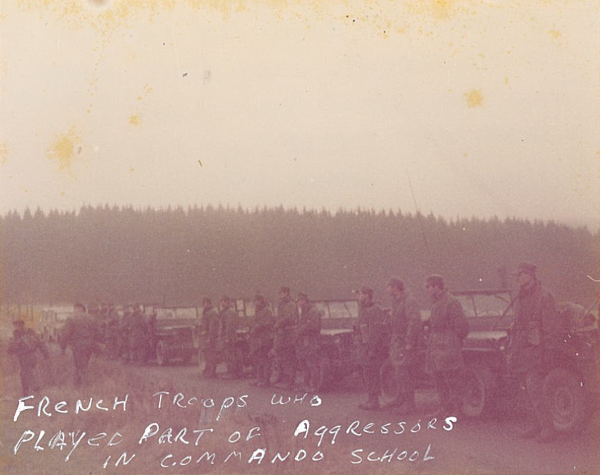 French Troops