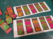 New artistamps on handmade paper