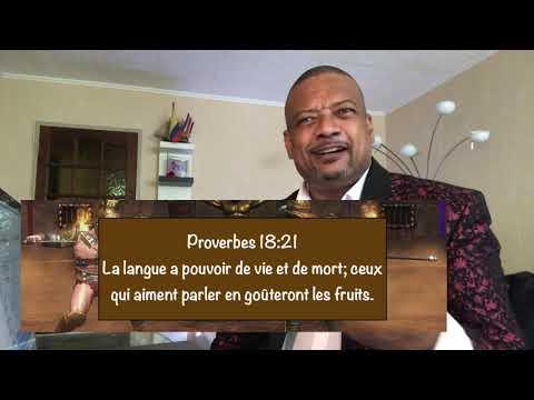 la puissance de la langue - Bishop Elie Lisiki