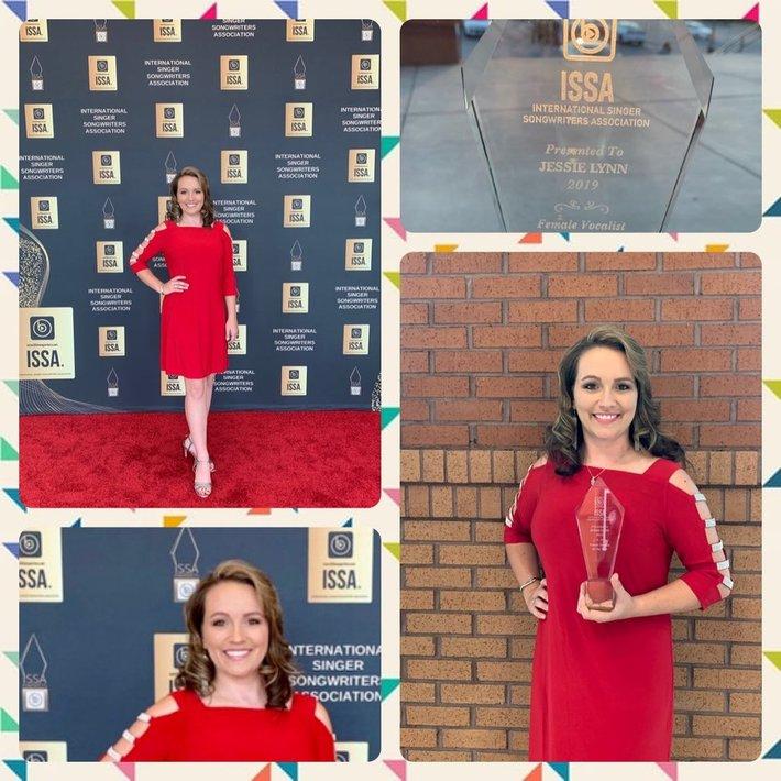 Jessie Lynn - ISSA 2019 Female Vocalist of the Year