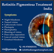 Retinitis Pigmentosa Treatment Vision and Cost in India