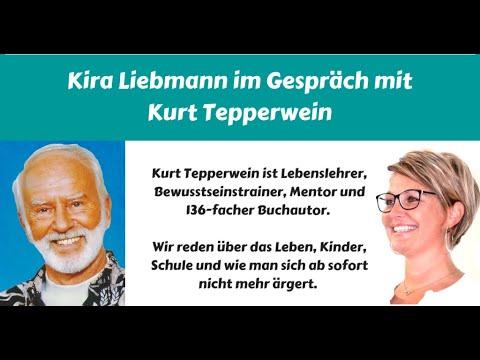 Kira Liebmann im Gespräch mit Kurt Tepperwein