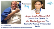 USA Patient Gave Great Thanks To Dr. Manju Aggarwal For Successful Kidney Treatment In India
