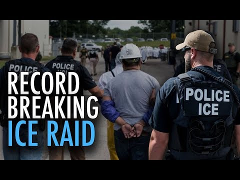 The Largest ICE Raid in HISTORY Just Happened. Koch Brothers Plant Hit