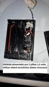 ESP8266 portátil - 2pilhas/ 3 volts