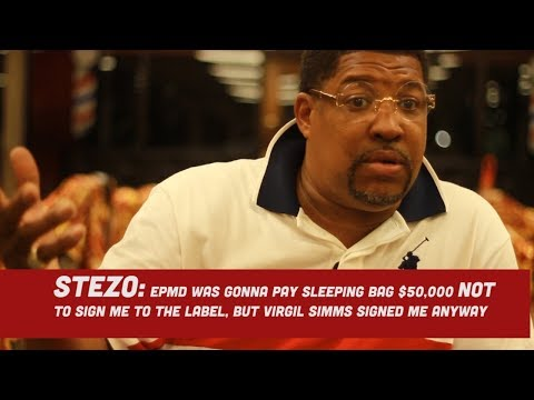 The Untold Story of Stezo | from Epmd's Dancer to creating his own Dance and Hit Record