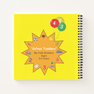 "Bright Sunshine ""My Faith Builders"" Notebook"