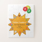 Gifted Toddler Oversize Puzzle!