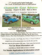 11th ANNUAL LYERLY  U.M.C.. CAR, TRUCK, MOTORCYCLE SHOW & CRAFT FESTIVAL