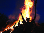 Pipers in the Prairie & Festival Fire