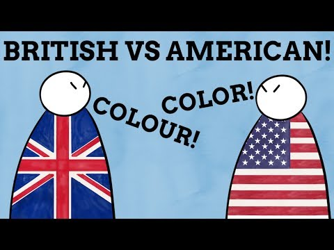 Why Are Words Spelt Differently In British & American English?