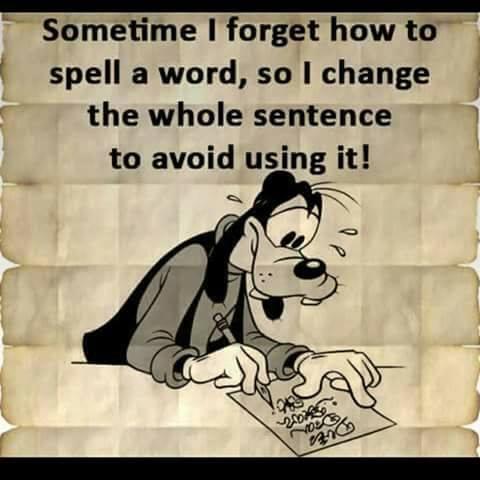 correct choce of word