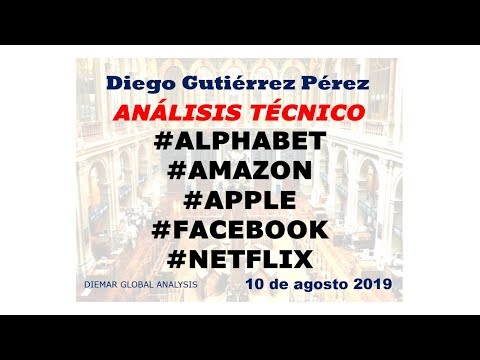 Análisis del #Alphabet, #Amazon, #Apple, #Facebook, y #Netflix (10/08/19).