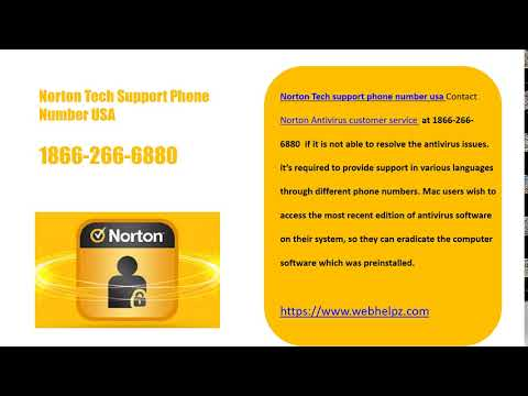Norton Support Phone Number USA