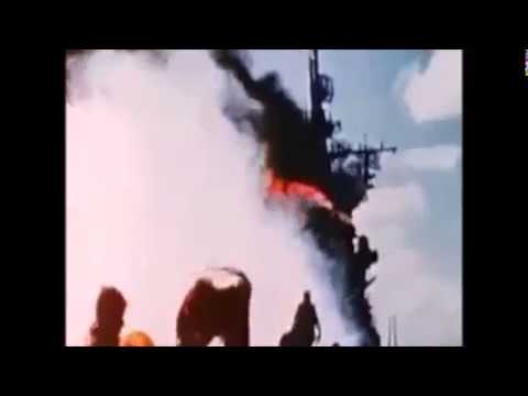 神風特別攻撃隊の実写映像 - Kamikaze attack footage