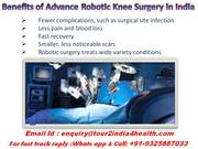What to Expect With Your Knee Replacement Surgery in India