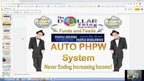 One Off Fee Leads To Multi Millions with Auto PHPW System Webinar Replay 6th Aug 2019