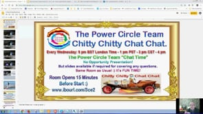 Power Circle Team Chitty Chitty Chat Chat with Home Sweet Home Project Update! Webinar Replay 7th Aug 2019